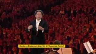 Le chef d'orchestre Gustavo Dudamel pourrait devenir le prochain directeur musical de l'Opéra de Paris. Côté sorties, le Quatuor Modigliani a élaboré un album prestigieux. (FRANCEINFO)