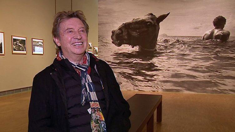 Andy Summers lors du vernissage de son exposition à Montpellier  (France 3 / Culturebox)