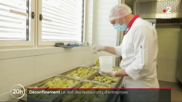 Déconfinement : un vrai défi pour les restaurants d'entreprises