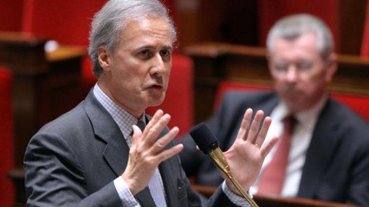 Georges Tron à l'Assemblée nationale le 30 mai 2011 (AFP - PIERRE VERDY)