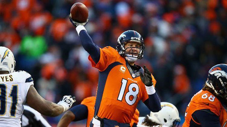 Le QB des Broncos, Peyton Manning