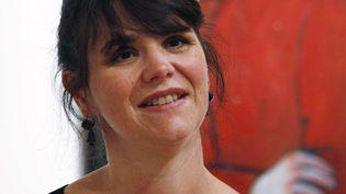 La conservatrice Cécile Debray à Seattle, dans une photo datée du 9 octobre 2012 (ELAINE THOMPSON / AP /SIPA)