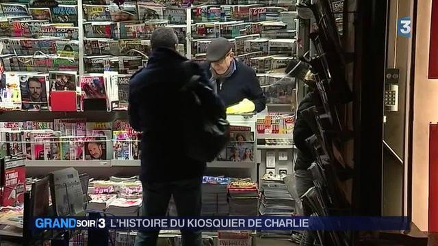 Charlie Hebdo : l'histoire incroyable du kiosquier