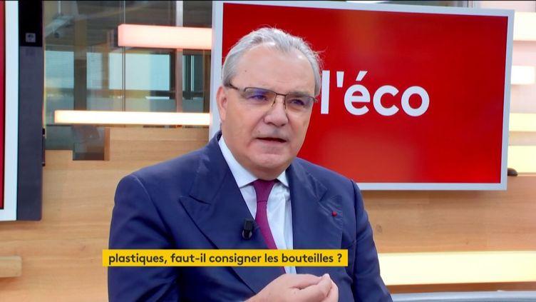 Jean-Louis Chaussade dans :l'éco (FRANCEINFO)