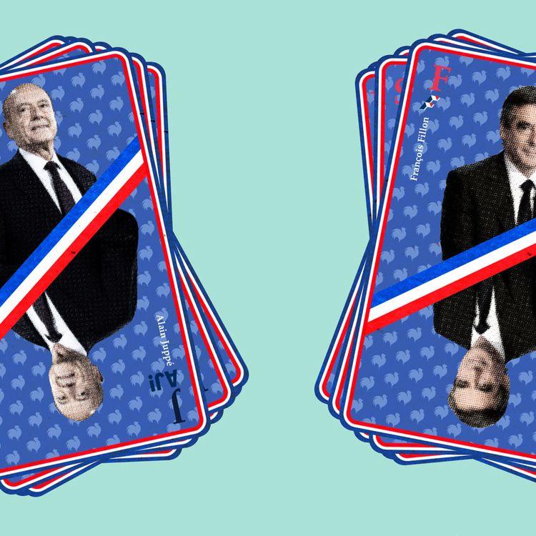 Alain Juppé et François Fillon peuvent compter sur de nombreux soutiens à droite et au centre. (VINCENT WINTER / FRANCEINFO)