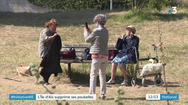 Charente-Maritime : les visiteurs de l'île-d'Aix sont priés de remporter leurs déchets sur le continent