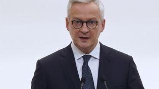 Bruno Le Maire, ministre de l'Economie, le 15 octobre 2020. (LUDOVIC MARIN / POOL / AFP)