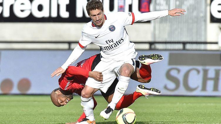 Benjamin Stambouli n'est plus parisien (LOIC VENANCE / AFP)