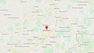 Les forces de l'ordre ontdécidé de garder pour le moment secret la localisation exacte de la découverte, pour éviter que des curieux ne partent à la recherche d'ossements. Ils ont été découverts dans une forêt autour de Montbéliard, dans le Doubs. (GOOGLE MAPS)