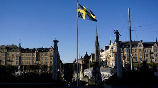 En Suède, la ville de Stockholm a connu en 2021 son mois de juin le plus chaud. (JONATHAN NACKSTRAND / AFP)