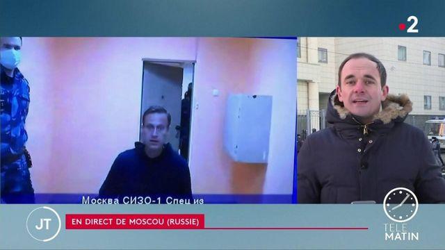 Russie : l'opposant Alexeï Navalny devant le tribunal