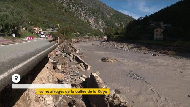 Tempête Alex : des villages de la vallée de la Roya coupés du monde
