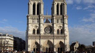 La cathédrale Notre-Damede Paris, le 14 avril 2019. (MANUEL COHEN / AFP)