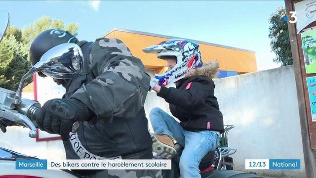 Boûches-du-Rhône : des bikers viennent en aide à un jeune victime de harcèlement scolaire