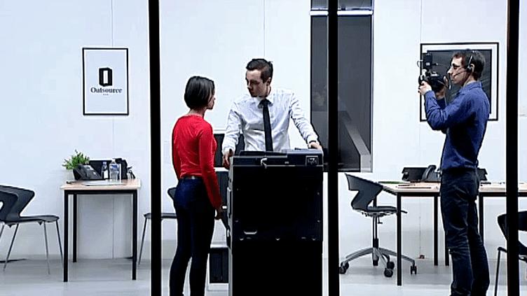 """""""Nobody"""" de Cyril Teste et du collectif MXM présenté au festival """"Filmer le Travail de Poitiers  (France 3 / Culturebox)"""