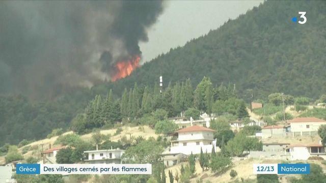 Incendies : la Grèce victime de violents incendies