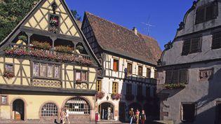 Maisons à colombages dans le haut-Rhin  (WOJTEK BUSS / ONLY FRANCE)