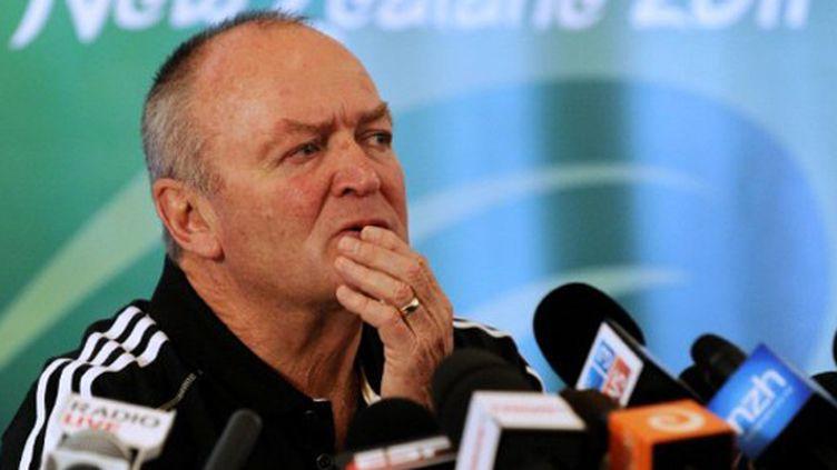 L'entraîneur néo-zélandais Graham Henry
