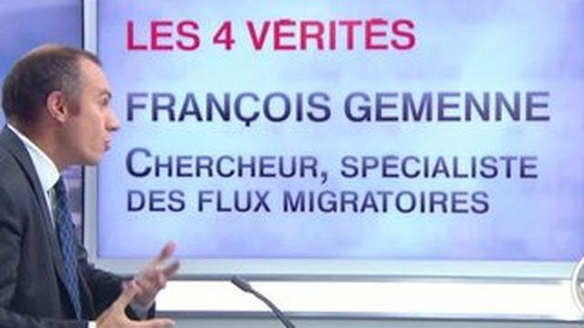Les 4 Vérités-François Gemenne : l'afflux de migrants est un processus de longue durée