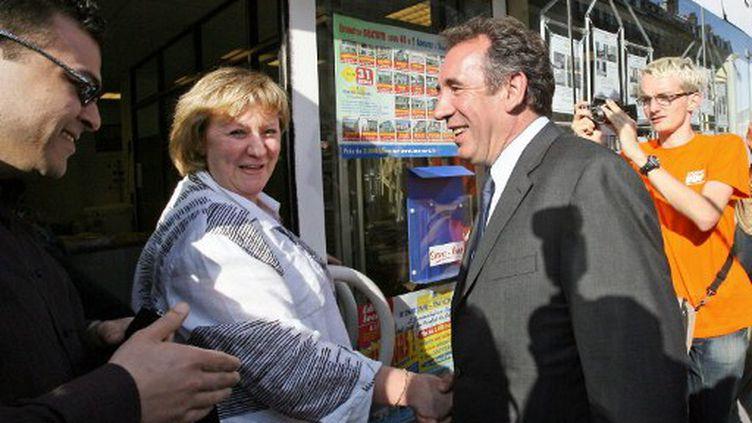 François Bayrou à Lille en 2007 (PHILIPPE HUGUEN / AFP)