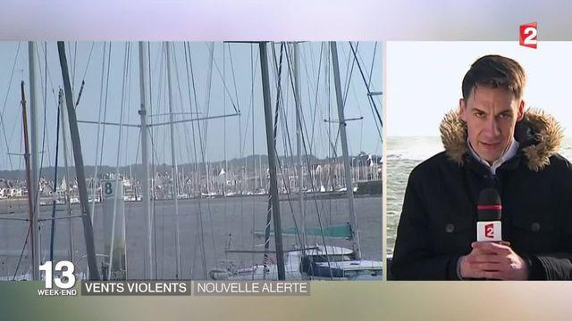 Intempéries :  l'ouest de la France touché par des vents violents