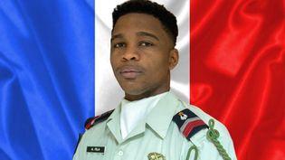 Le brigadier-chef Andy Fila, sur une photo non datée diffusée par l'Etat-Major des armées. (ETAT-MAJOR DES ARMEES)
