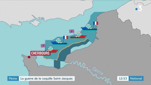 Pêche : la guerre de la coquille Saint-Jacques