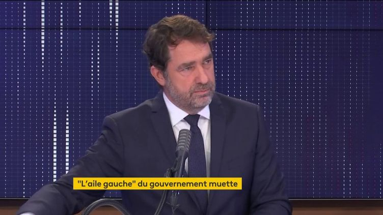 Christophe Castaner, président du groupe La République en marche à l'Assemblée nationale, était l'invité de franceinfo mercredi 16 décembre 2020. (FRANCEINFO / RADIO FRANCE)