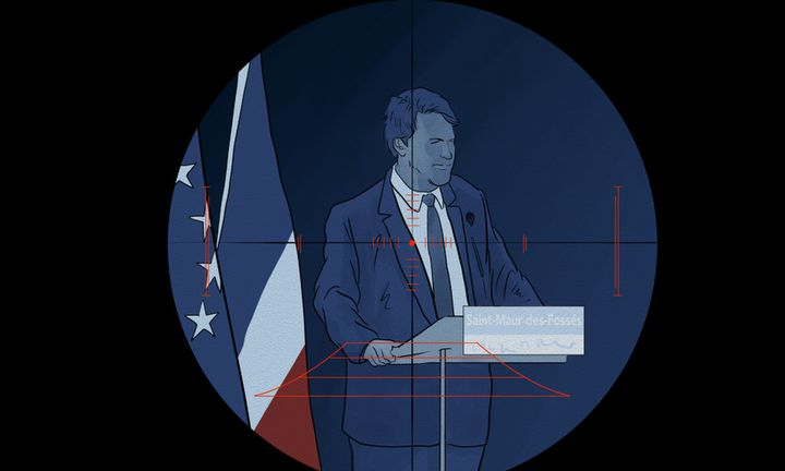 """Sylvain Berrios, actuel maire de Saint-Maur-des-Fossées, aurait fait l'objet d'un """"contrat"""", jamais exécuté. (NICOLAS DEWIT / RADIO FRANCE)"""
