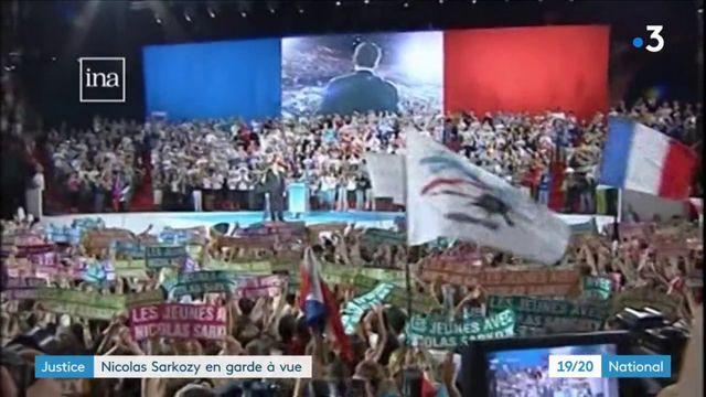 Justice : Nicolas Sarkozy en garde à vue