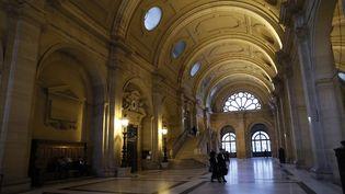 Le palais de justice de Paris, sur l'ïle de la Cité. (THOMAS SAMSON / AFP)