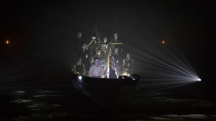 """""""Le radeau de la méduse"""", mise en scène de Thomas Jolly  (Christophe Raynaud de Lage/Festival d'Avignon)"""