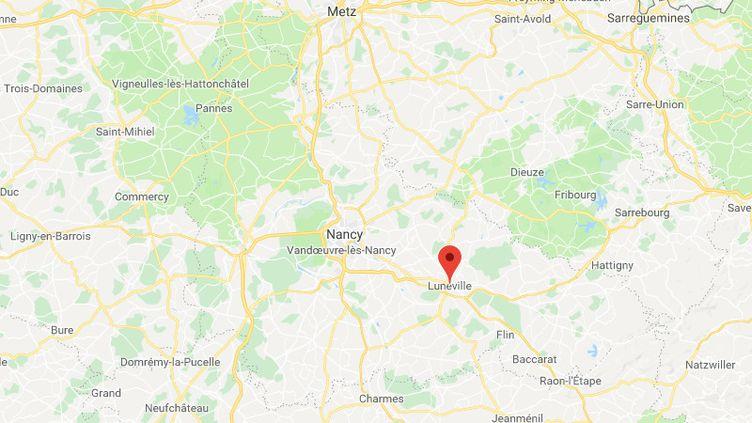 Un enfant de deux ans a été renversé par un conducteur à Lunéville. (GOOGLE MAPS)