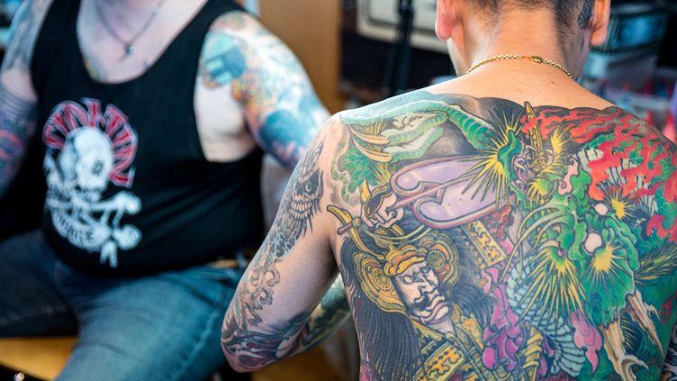 Mondial du tatouage, 2015  (DENIS PREZAT / CrowdSpark)