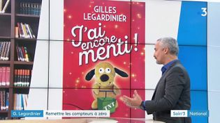 """Gilles Le Gardinier pour son livre """"J'ai encore menti"""" (France 3)"""
