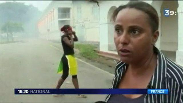 Guyane : incidents à Cayenne