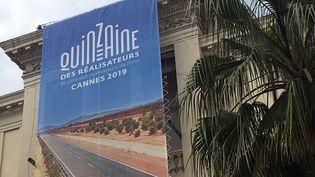 La façade cannoise de la Malmaison, siège de la Quinzaine des Réalisateurs à Cannes (Jean-François Lixon)