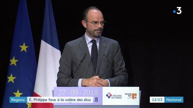 Congrès des régions : Édouard Philippe face à la colère des élus