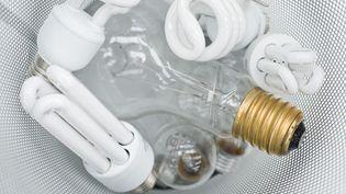 Au 31 décembre 2012, il ne sera plus possible de trouver des ampoules à filament dans les rayons. (ODILON DIMIER / ALTOPRESS / AFP)