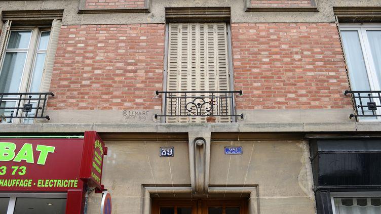 L'appartement dans lequel le couple de Chinois accusé d'avoir tué un autre couple vivait, dans le 12e arrondissement de Paris. (MARTIN BUREAU / AFP)
