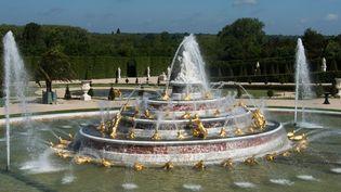 Le bassin de Latone restauré a été inauguré le 18 mai 2015  (Château de Versailles )
