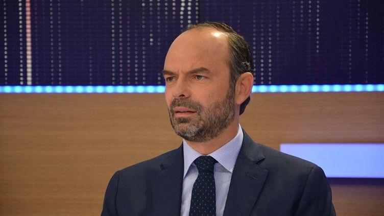 Le Premier ministre Edouard Philippe, le 14 juin 2017. (JEAN-CHRISTOPHE BOURDILLAT / FRANCE-INFO)