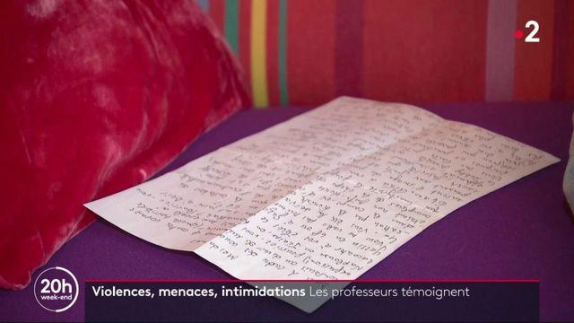 Éducation nationale : violences, intimidations, menaces… des professeurs témoignent