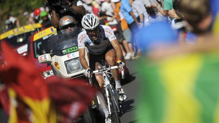 Christophe Riblon en 2010 (LIONEL BONAVENTURE / AFP)