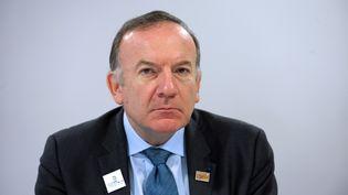 Le patron du Medef, Pierre Gattaz, le 3 avril 2015. (ERIC PIERMONT / AFP)