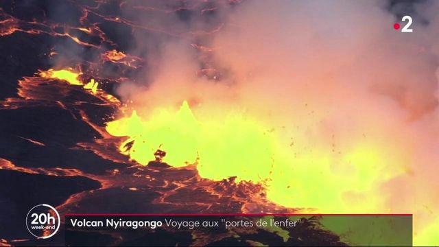 """République Démocratique du Congo : à la découverte du volcan Nyiragongo, """"aux portes de l'enfer"""""""