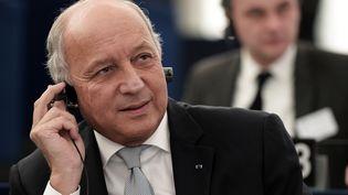 Laurent Fabius le 20 janvier 2016 au Parlement européen de Strasbourg? (FREDERICK FLORIN / AFP)