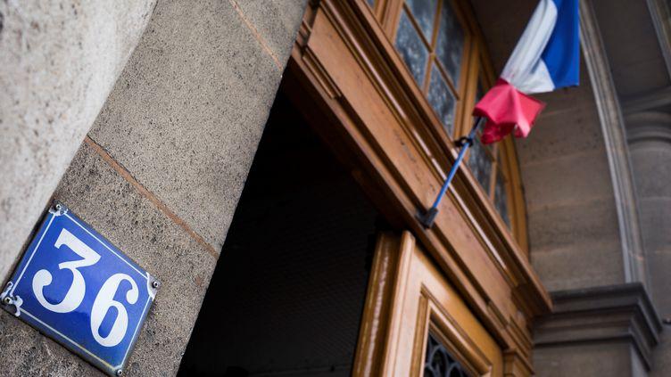 Le 36, quai des Orfèvres, le 30 juin 2017, à Paris. (MARTIN BUREAU / AFP)