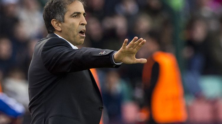 Farid Benstiti, l'entraîneur de l'équipe féminine du PSG (JOHN MACDOUGALL / AFP)