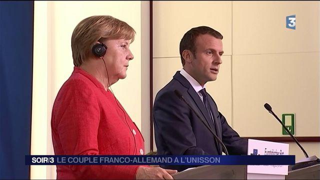 Bruxelles : le couple franco-allemand à l'unisson